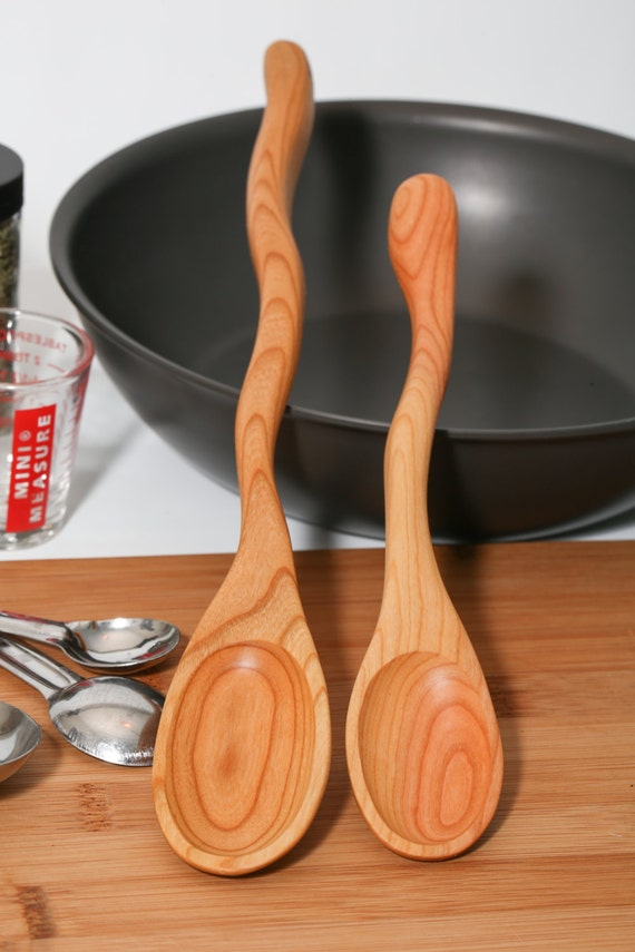 Wooden Spoon Makers ~ Companion wooden spoon set kitchen stirring spoons made