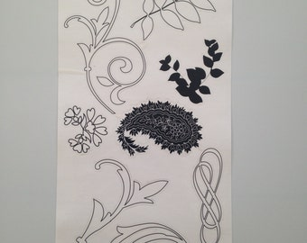 Flourishes and Paisleys Style 4
