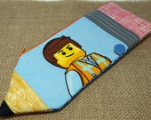 Pencil Case: Back To School! Pencil Pouch | Pencil Holder | Personalized Pencil Case | Unique Gift | Lego Movie Emmet