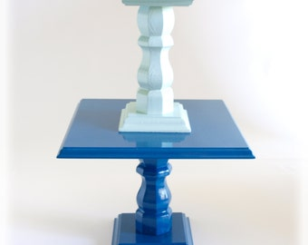 navy wedding cake stand popular items for stand for cake on etsy 17792