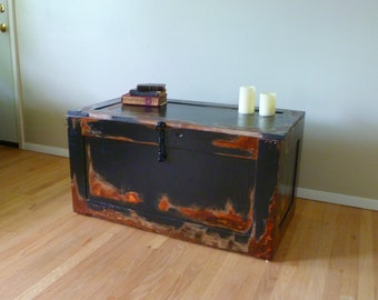Media Center Trunks Tv Stand Media Console Reclaimed