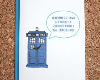 Doctor who card | Etsy