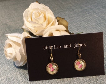 Gorgeous Floral Drop Earrings