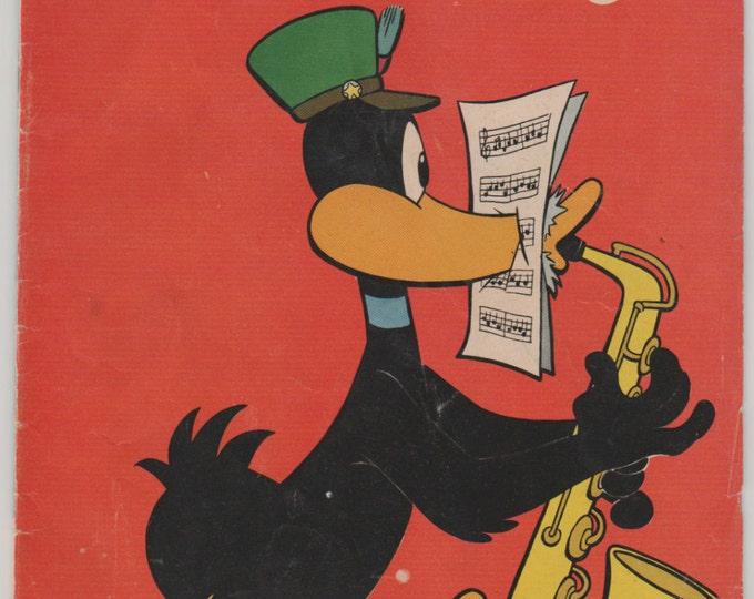 Daffy Duck, Vol 1, 15 Golden Age Comic Book.  VG/FN.  Oct - Dec 1956.  Dell Comics.