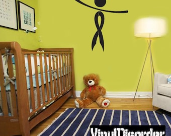 Ribbons Vinyl Wall Decal Or Car Sticker - Mvd018ET