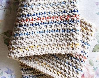 Pearl stitch cowl PDF Crochet Pattern