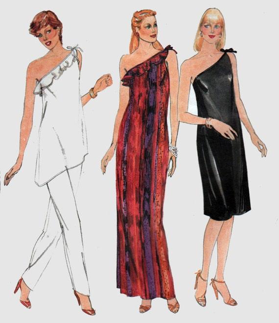 Mccall S 3514 Greek Roman Gown Toga Costume Sewing Pattern: One Shoulder Dress Pattern Greek Roman Toga Dress Pattern