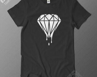 Dripping Diamond T Shirt - Regular Fit