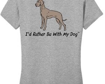 Great Dane T Shirt (ladies)