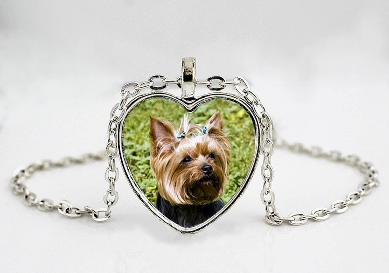 terrier necklace yorkie breed jewelry