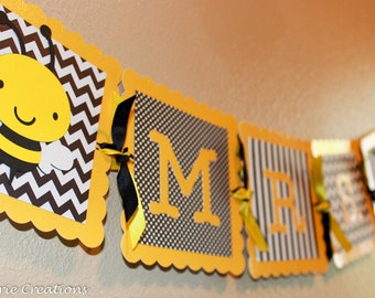 Bees Classroom Theme Banner