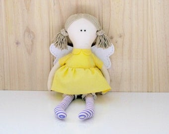 Fairy doll PDF soft toy sewing pattern plushie softie