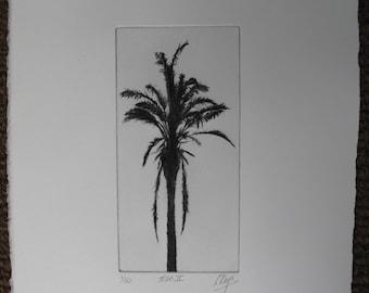 Palm Tree print.