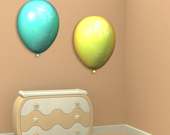 Wall decals balloons A146 - Stickers ballons A146