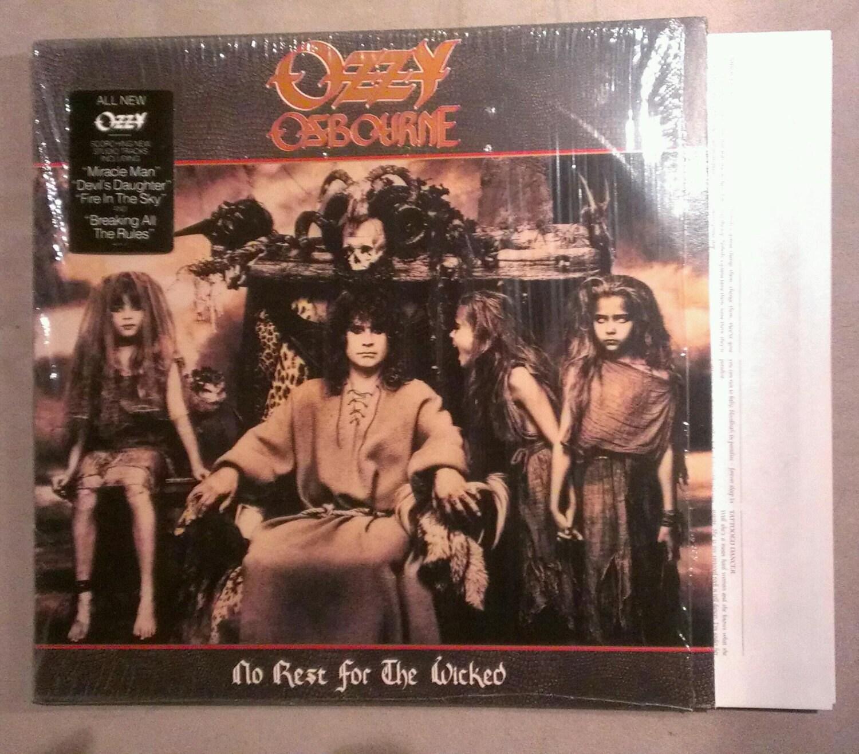 LP Vinyl Record Album Ozzy Osbourne: No Rest For By