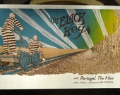 Black Keys Poster - Limited to 132pcs, 3 color silkscreen print, signed and numbered.