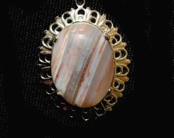 Colorado Banded Agate with Sterling Silver