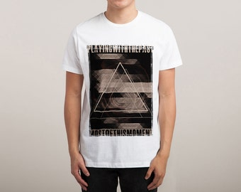 Men's Playing With The Past Printed T-Shirt