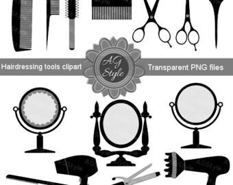 Hair clipart | Etsy