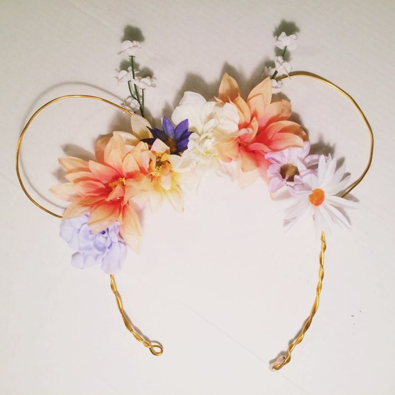 Pastel Flower Crown MouseEars