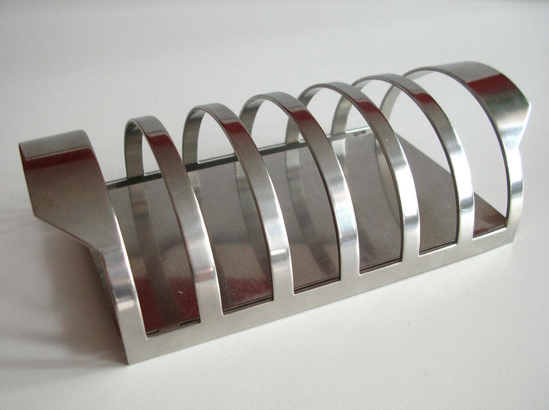Stelton Toast Rack Letter Holder Arne Jacobsen Cylinda Line
