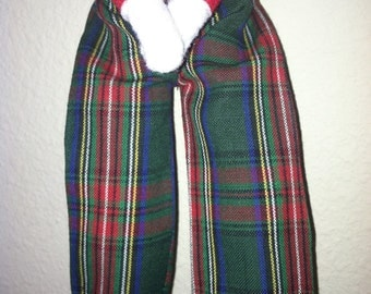 Christmas Shelf Clothes Green and Red Plaid Pants for Boy or Girl Elf or Pixie