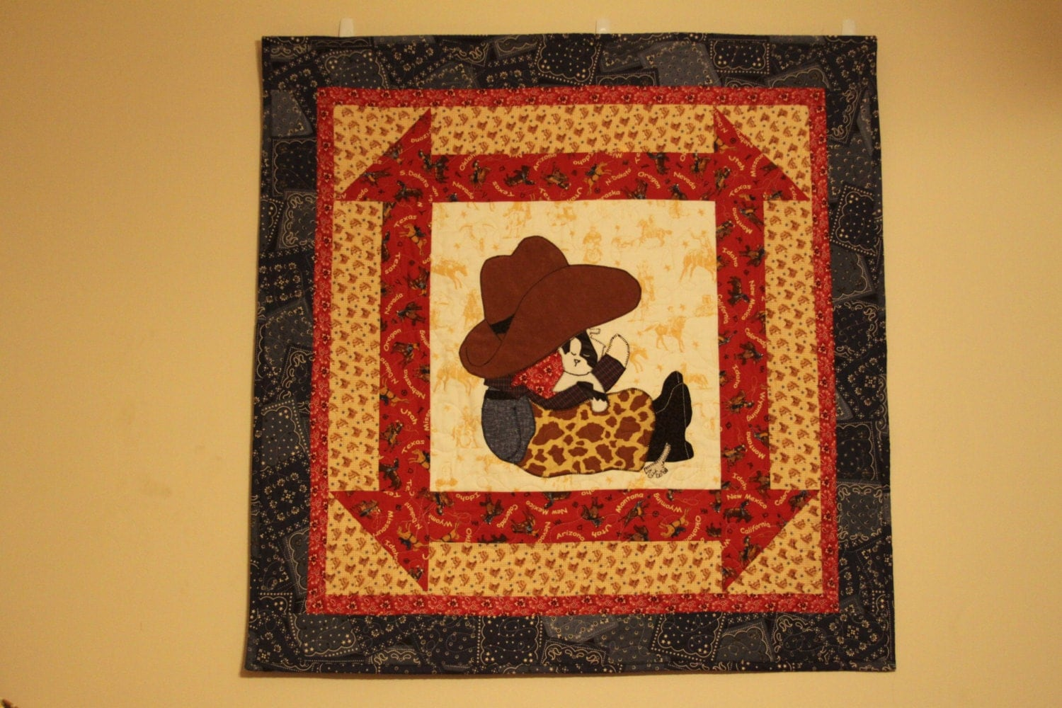 Cowboy Baby Quilt Pattern Lil Dude Western Decor