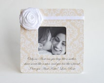 Personalized Aunt Picture Frame - Aunt Gift Nieces Nephews Photo Frame - Available in 4 Sizes and many Colors and Styles