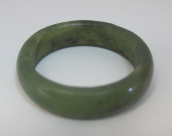 Jade Authentic Band Ring with no Stones