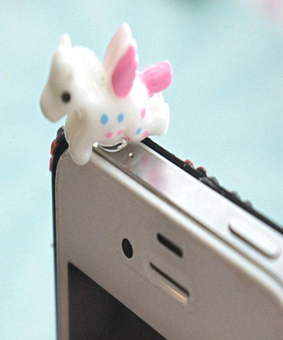 accessoires de téléphone Licorne mignon téléphone plug,kawaii, pare,poussière