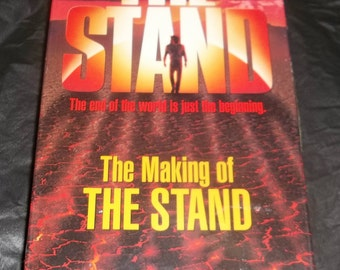 STEPHEN KING The STAND Making of Vhs Factory Sealed tv Miniseries Feature 1994 Captain Tripps,  Video related to  Horror Book