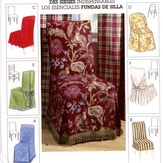 decor chair covers home decor sewing pattern mccalls by sewing pattern home decor pattern pillows pattern kwik sew