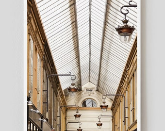 """SALE! Paris Photography, """"Jouffroy"""" Paris Print Extra Large Wall Art Prints, Paris Wall Decor"""