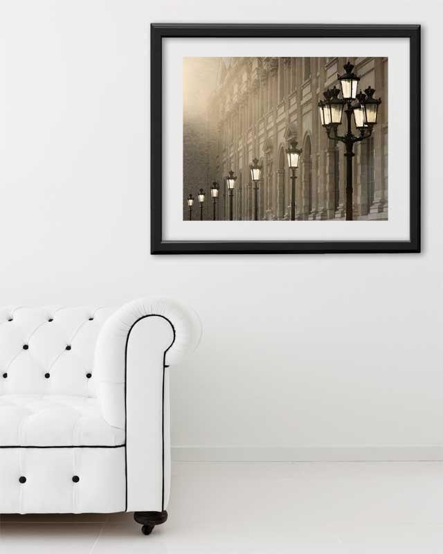 "Paris Print, ""Last Light"" Extra Large Wall Art, Paris Photography Art Print, Oversized Art, Fine Art Photography Paris Decor"