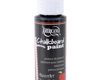DecoArt Americana CHALKBOARD PAINT  2 oz Bottle