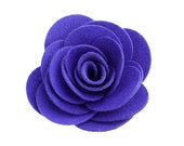 Violet Kitty Corsage - Ultrasuede® Removable Collar Flower