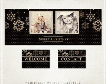 Christmas Soiree Facebook Templates