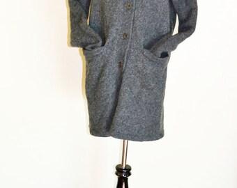 Classic Grey Sweater, Size M, 100% Wool, Vintage  Fashion, Cozy, Warm HALF OFF S A L E