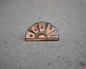 Vintage Pin - Parnu city - Vintage Estonian Pin