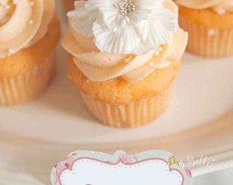 INSTANT DOWNLOAD Candy Buffet Fancy Labels by Itsy Belle