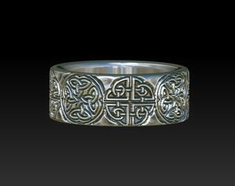 wedding ring celtic ring   celtic band    celtic wedding ring   wedding band  celtic jewelry mens ring YB114