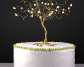 Tree Cake Topper Custom in Your Wedding Colors