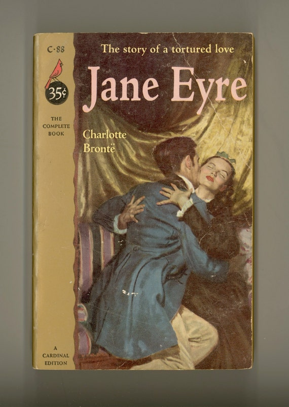 Jane eyre by charlotte bronte book 1943 silver