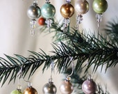 Beaded Ornament Hangers, Set of 10