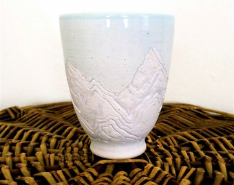 pale blue mountain tumbler