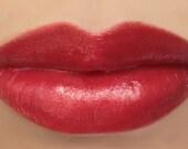 "Vegan Lipstick - ""Cherry"" (bright red lipstick) natural lip tint, balm, lip colour mineral lipstick"