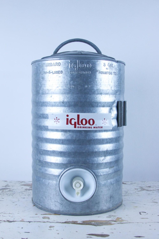 Vintage igloo water cooler 1960 39 s - Igloo vintage ...
