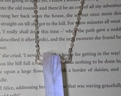 Rainbow moonstone and sterling silver wire wrapped necklace