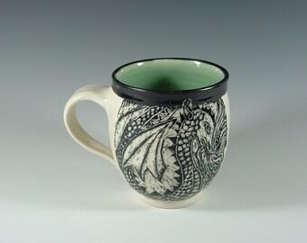 Double Dragon Mug