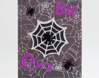 Spider Eeek Halloween Card